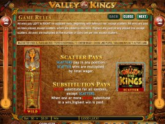 Valley of the Kings gokkast77.com Genesis Gaming 2/5