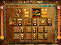 Valley of the Kings gokkast77.com Genesis Gaming 3/5