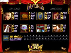 True Illusions gokkast77.com Betsoft 2/5