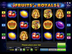 Fruits and Royals - Gaminator