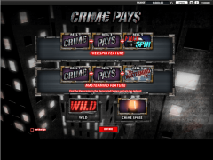 Crime Pays - William Hill Interactive