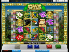 Amazon Wild 100 Line Slot - Playtech