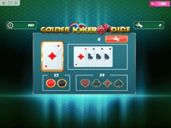 Golden Joker Dice gokkast77.com MrSlotty 3/5