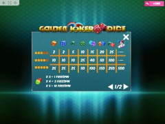 Golden Joker Dice gokkast77.com MrSlotty 5/5