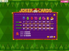 Joker Cards gokkast77.com MrSlotty 5/5