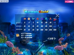 Mermaid Gold gokkast77.com MrSlotty 5/5